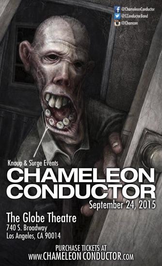 Chameleon Conductor @ The Globe Theatre 9/24